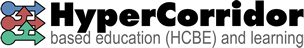 Hypercorridor based education (HCBE) and learning Mobile Retina Logo